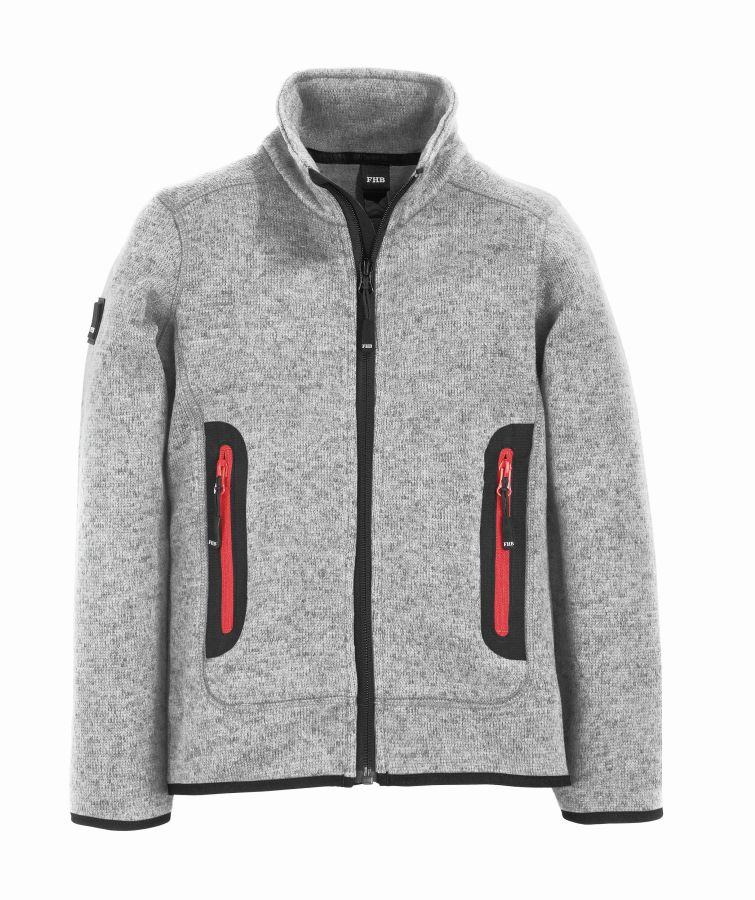 FHB MATS Strick-Fleece-Jacke Kinder